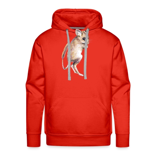 hopping mouse - Men's Premium Hoodie