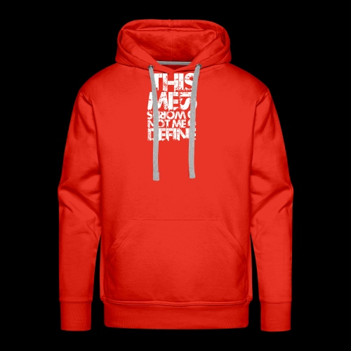 Words Do Not Define Me - Men's Premium Hoodie