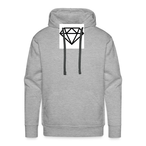 diamond outline 318 36534 - Men's Premium Hoodie
