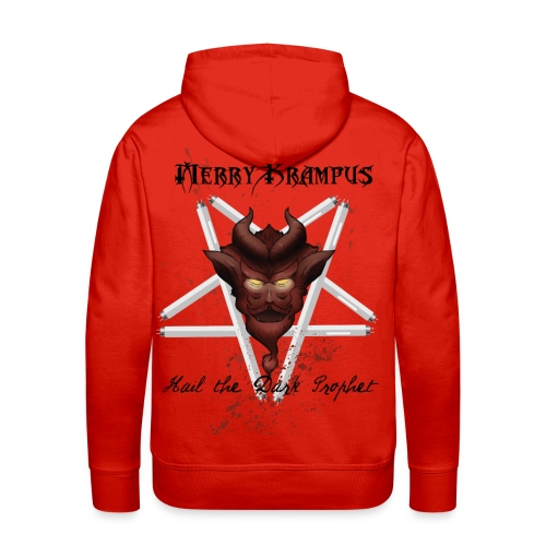 Krampus Shirt Dark - Men's Premium Hoodie
