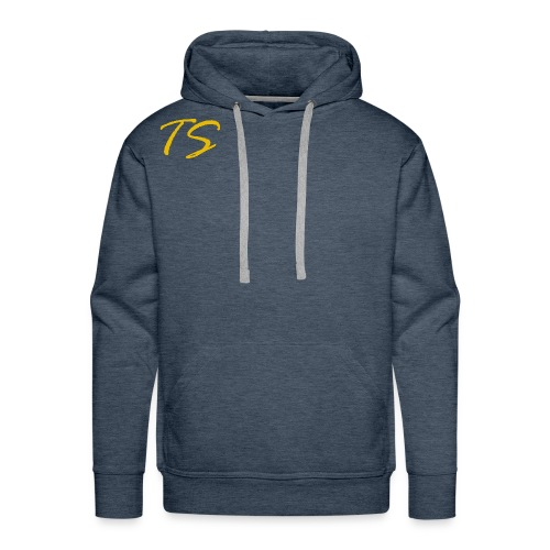 TS LOGO-GOLD VERSION [LIMITED EDITION] - Men's Premium Hoodie