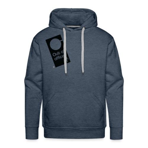 Out Of Office Door Hanger - Men's Premium Hoodie
