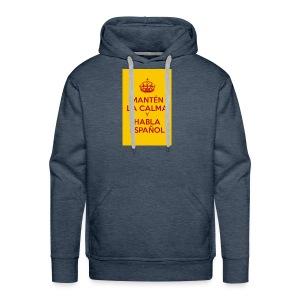 18cc4 keepcalmposter - Men's Premium Hoodie