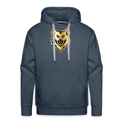 Wolf gril - Men's Premium Hoodie