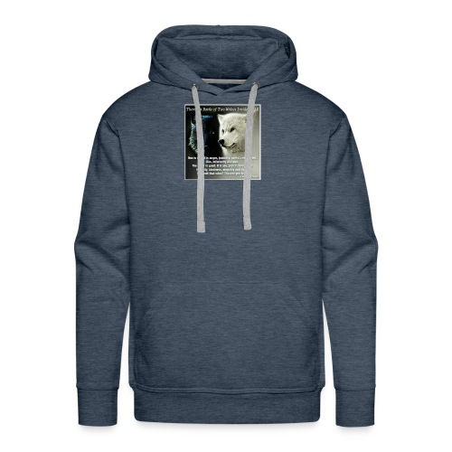 Wolf are just awesome - Men's Premium Hoodie