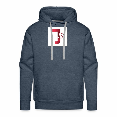 JiltedStarfish7 logo - Men's Premium Hoodie