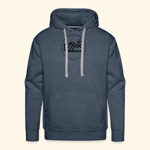 foot ball - Men's Premium Hoodie