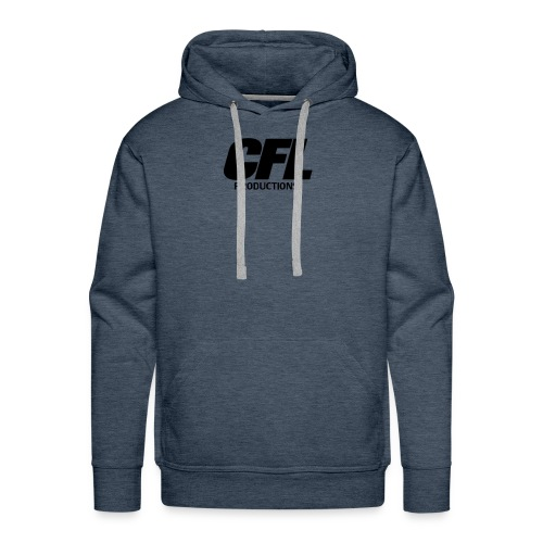 CFL Productions 2017 - Regular logo size - Men's Premium Hoodie