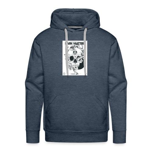 Flowery-Skull - Men's Premium Hoodie