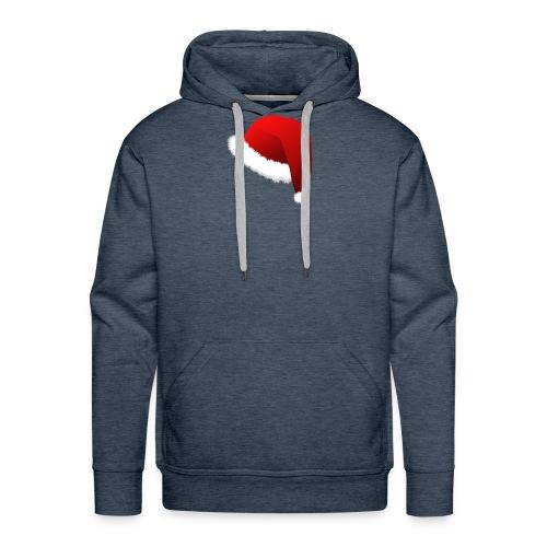 Carmaa Santa Hat Christmas Apparel - Men's Premium Hoodie