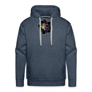 cubes - Men's Premium Hoodie