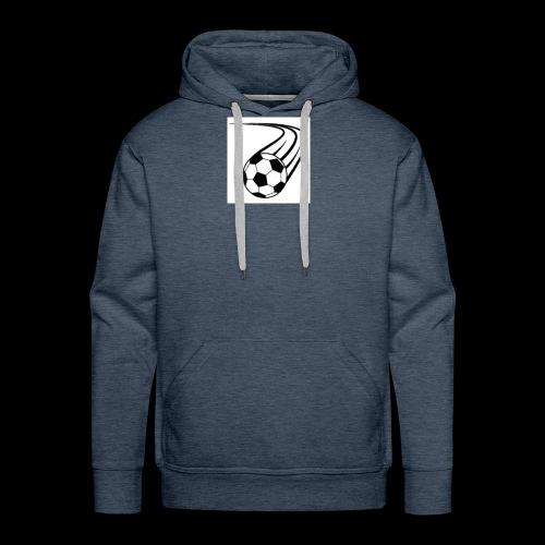 Soccer ball logo - Men's Premium Hoodie