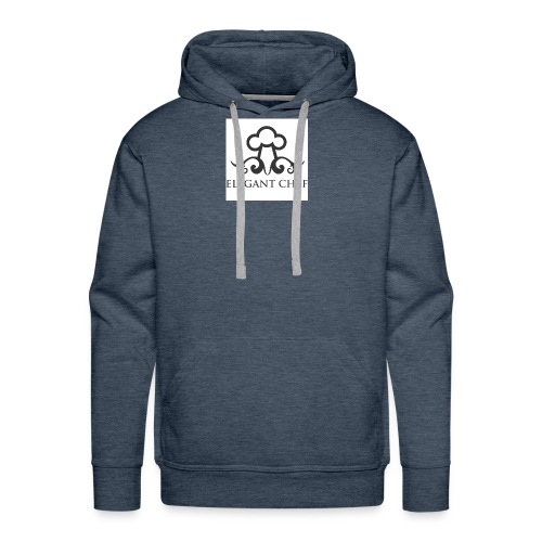 elegant chef hat ldesign - Men's Premium Hoodie