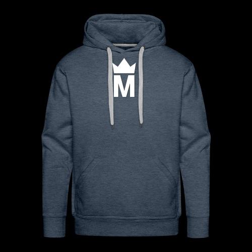 White Majesty Logo - Men's Premium Hoodie