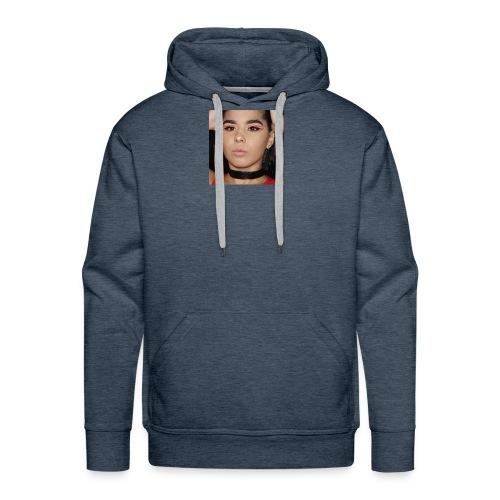Orange & Black Cut Crease - Men's Premium Hoodie