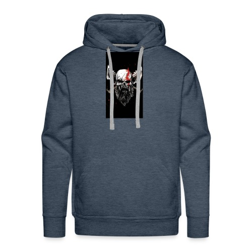 God of War Skull - Men's Premium Hoodie