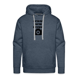 right in the face - Men's Premium Hoodie