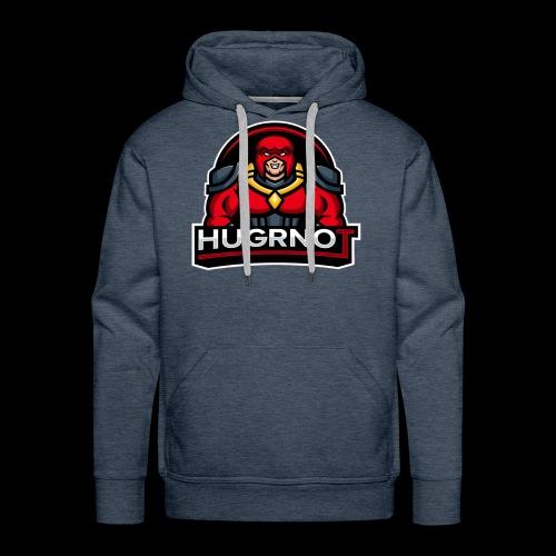 Hugrnot Logo - Men's Premium Hoodie