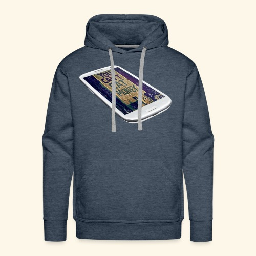 You Can't Eat Money - Men's Premium Hoodie