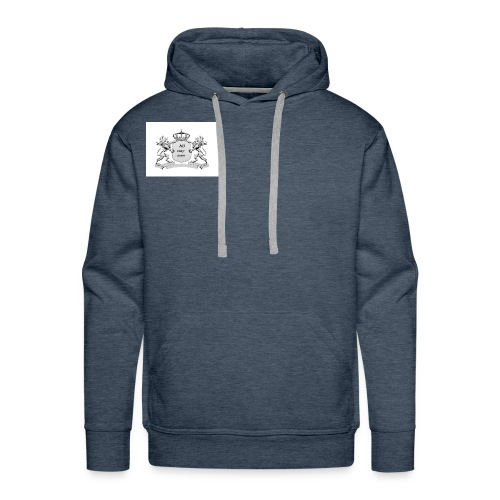 NO way man crowns of cougar - Men's Premium Hoodie