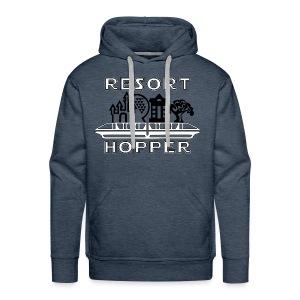 Resort Hopper Logo - Men's Premium Hoodie