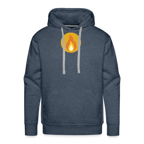 Flame (For cases and Cups) - Men's Premium Hoodie