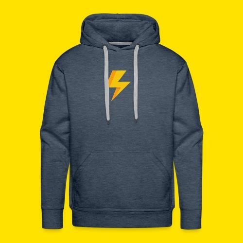 lightning icon - Men's Premium Hoodie