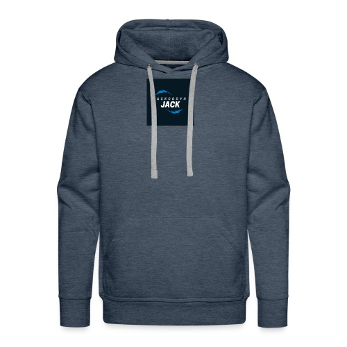 JackCodyH blue lightning bolt - Men's Premium Hoodie