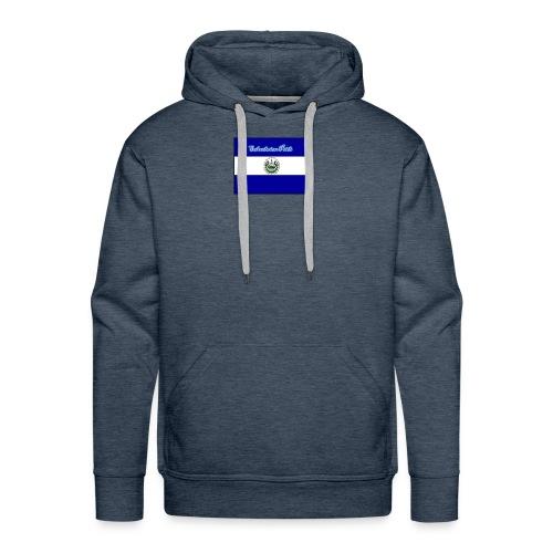 652fedbe86131b439e3b58ea82451d89 el salvador flag - Men's Premium Hoodie