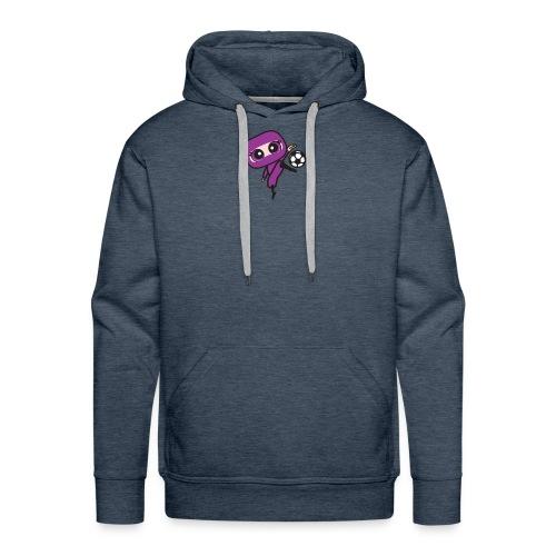 NinjasJPGcute2Soccer clipped rev 1 - Men's Premium Hoodie