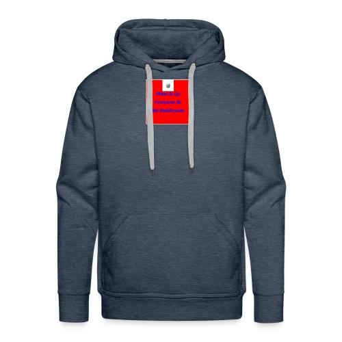 RobRoyale's First Shirt - Men's Premium Hoodie
