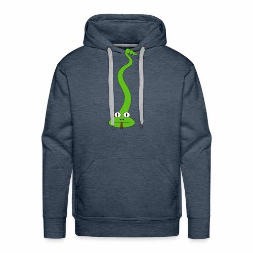 Green Snake - Men's Premium Hoodie