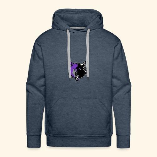 WolfyLogo 2 - Men's Premium Hoodie