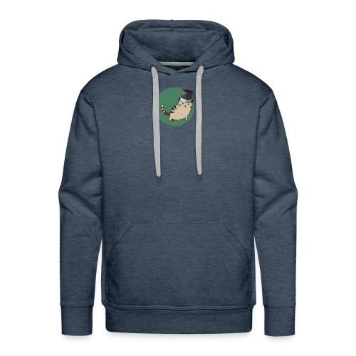 Cat logo - Men's Premium Hoodie