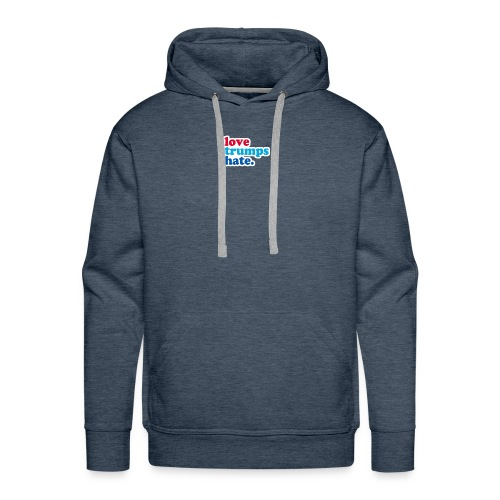 Love Trumps Hate - Men's Premium Hoodie