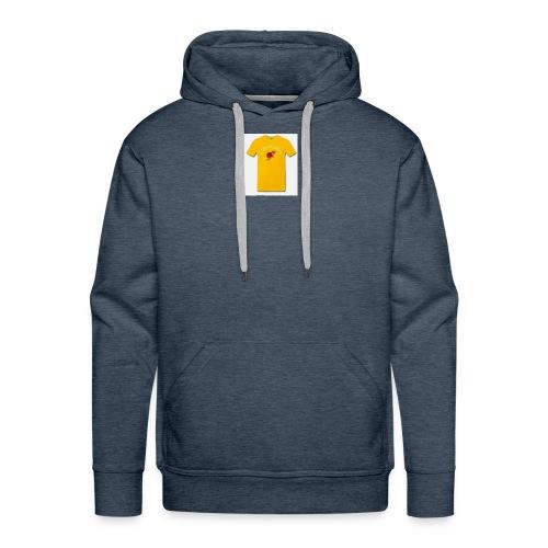 t shirt love - Men's Premium Hoodie