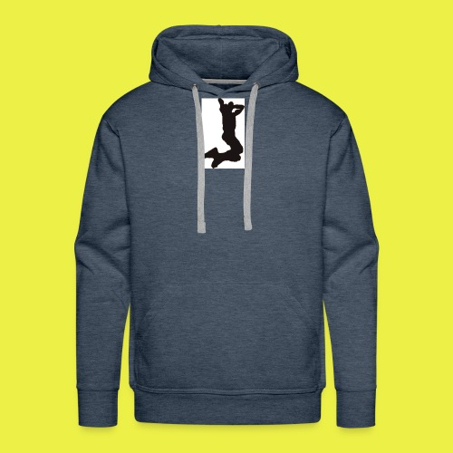 Rise up to the top Logo - Men's Premium Hoodie