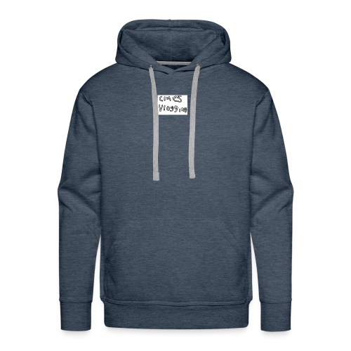 Clue's vlogging official merch - Men's Premium Hoodie