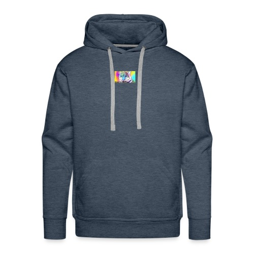 Rainbow Tiger Design Cases - Men's Premium Hoodie