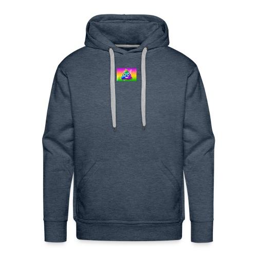 rainbow poop - Men's Premium Hoodie