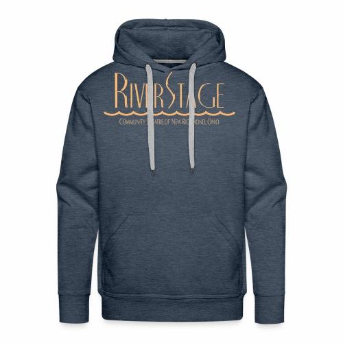 RiverStage Color Logo in Beachy Peach - Men's Premium Hoodie