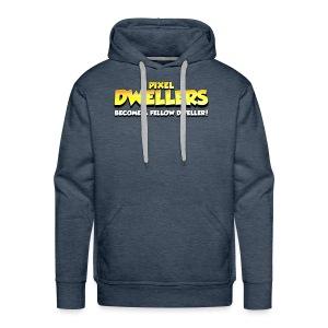 Pixel Dweller Logo - Men's Premium Hoodie