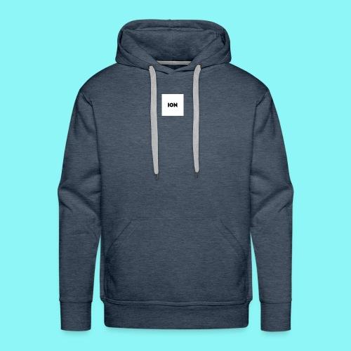 ion logo - Men's Premium Hoodie