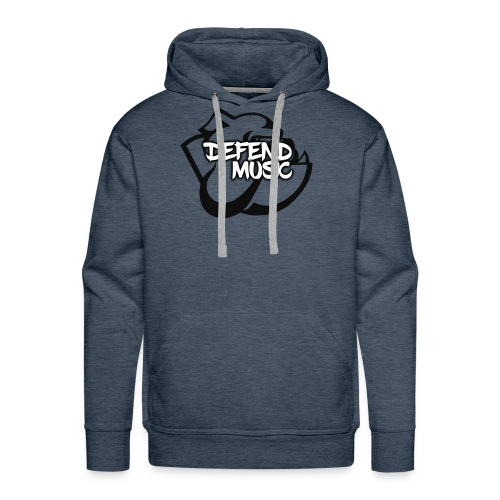 Defend Music mascot Hoodie - Men's Premium Hoodie