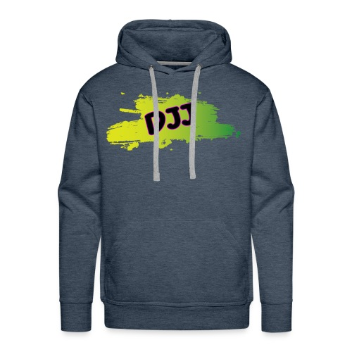 DJJ Green splash - Men's Premium Hoodie