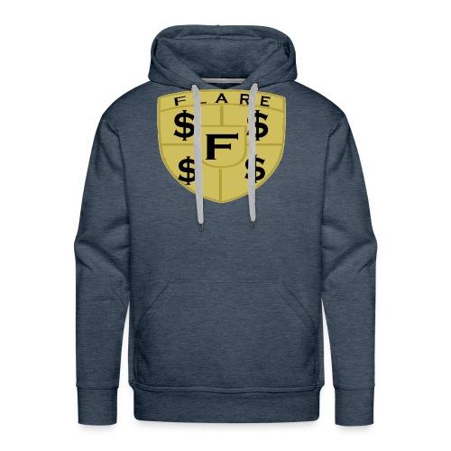 FLARE Shield Logo - Men's Premium Hoodie