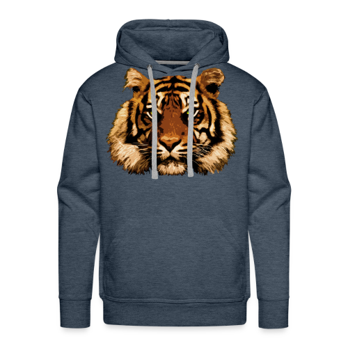Tiger Thoughts - Men's Premium Hoodie
