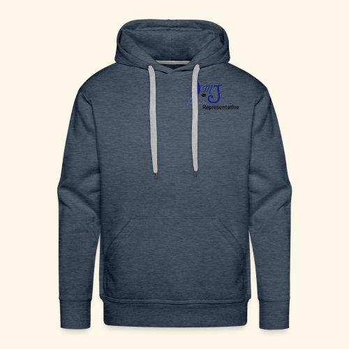 SMJ Rep. Blue - Men's Premium Hoodie