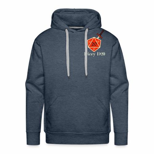 Dicey D20 Shirt - Men's Premium Hoodie