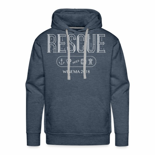 Winema 2nd High School Camp (RESCUE) - Men's Premium Hoodie